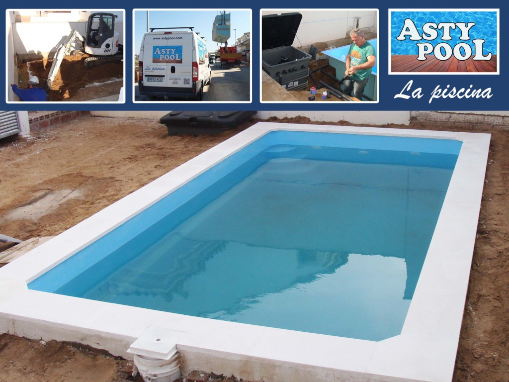Fabricamos piscinas de poliéster en Cádiz