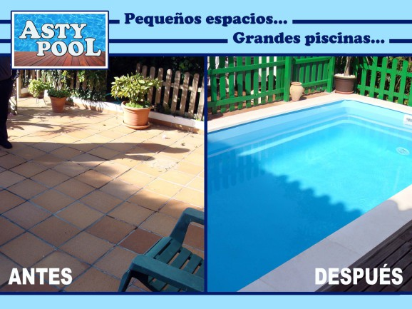 Construimos piscinas de fibra en Cádiz